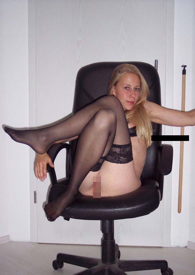 heisse blonde amateurin muschi
